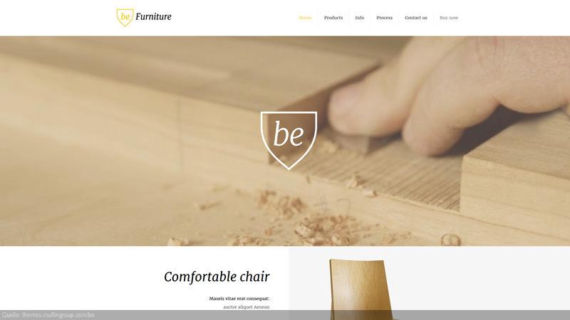 Design Template Schreiner/ Tischler/ Holz/ Möbel/ Enterieur/ Ladenbau