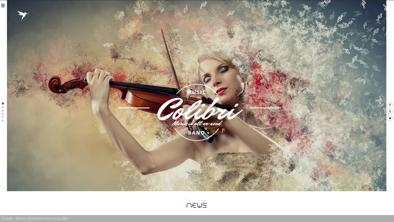 Design Template Art & Music