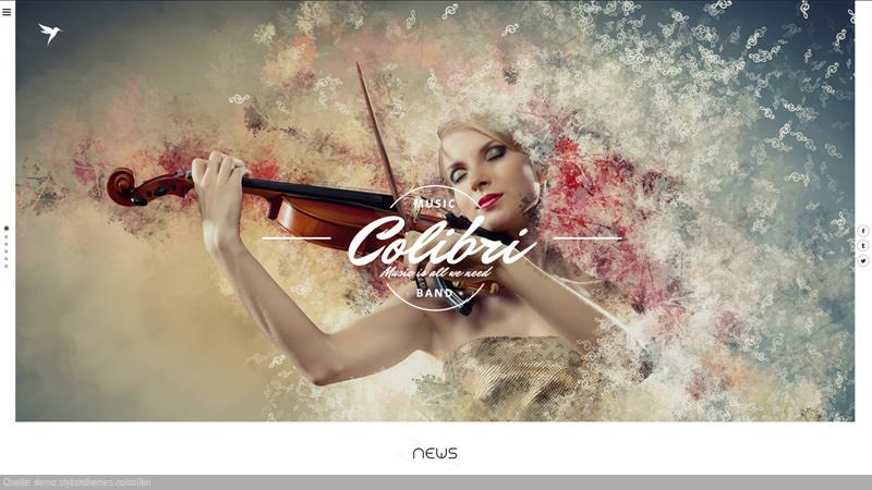 Design Template Art & Music