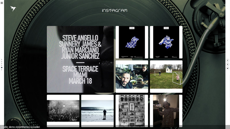 Design Template instagram Social Media