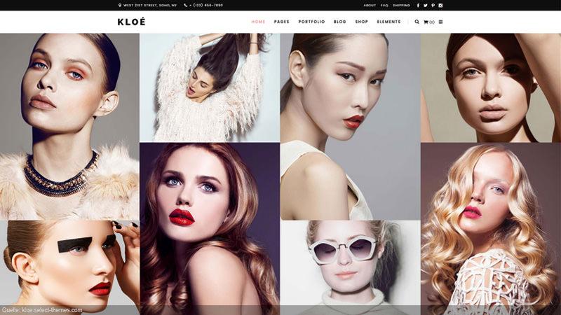 Design Template Fashion and Hair